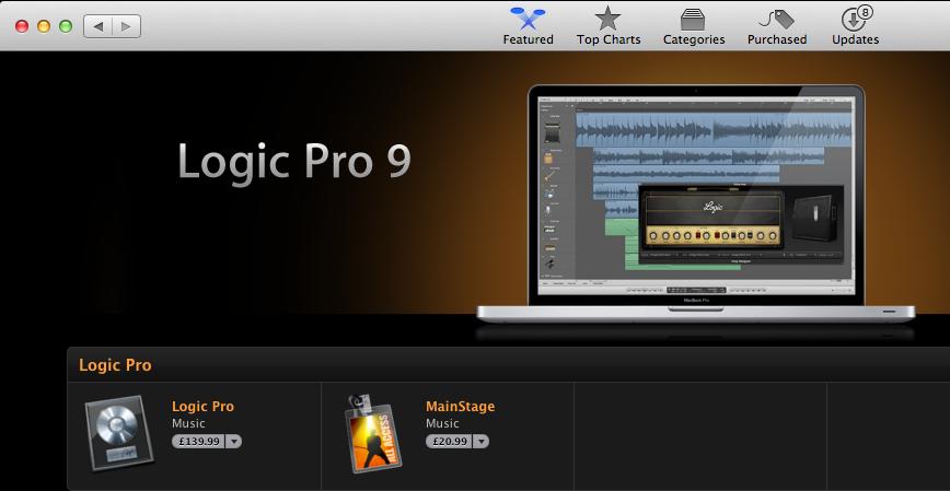 logic pro 9 for pc