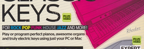 Computer Music 191 – Classic Keys Cover Feature (with Video) plus KR-Delay CM & VPS PhiltaCM